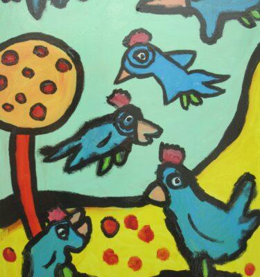 Blauwe vogels uitgeleend tot 31-12- 2011