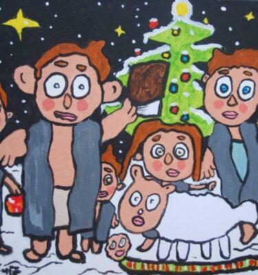 Schilderijen, Picassovis, Jaïr, kerst