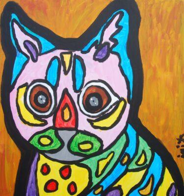 Schilderijen, Picassovis, Jaïr, kat, kunst