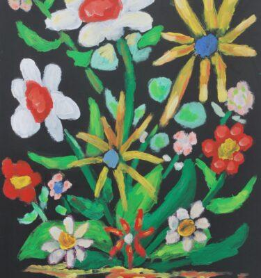 Mooie bloempjes uitgeleend tot 30-06-2011