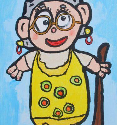 Schilderijen, Picassovis, Jaïr, oma, kunst