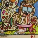 Picassovis kerstkaart jaïr maarsen kunst
