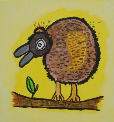 Picassovis, Jaïr Maarsen, kunst, adelaar, vogel