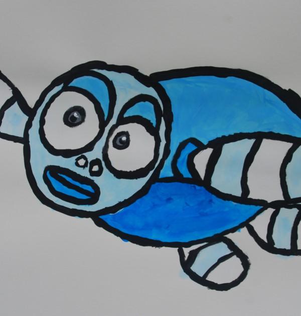Zeeschildpad sticker