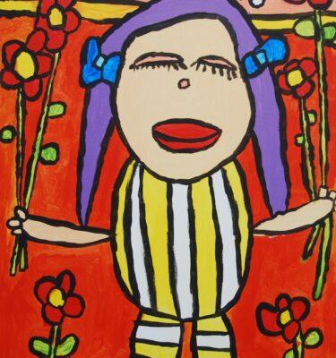 Jaïr M;aarsen, Picassovis, kunst, bloemen