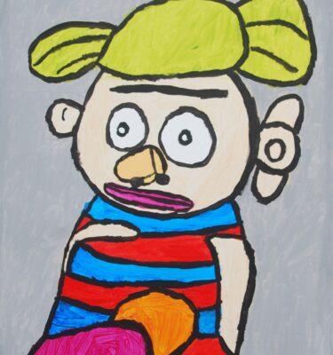 Picassovis, JaÏr Maarsen, kunst, mannetje