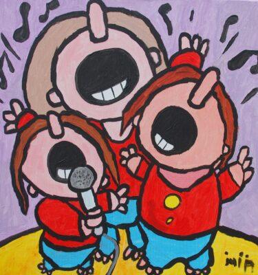 Picassovis, Jaïr Maarsen, Kunst, zingen