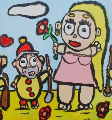 Jaïr Maarsen, Picassovis, kunst, sprookje
