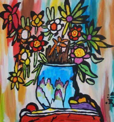Jaïr Maarsen, Picassovis, kunst, bloemen